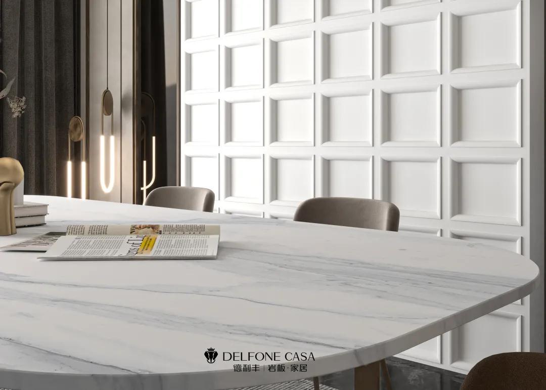 DELFONE新品 | 托斯卡纳白,天然有格调的现代简约范